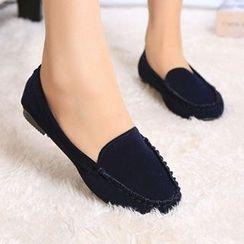 KOKAGIRL - Plain Loafers