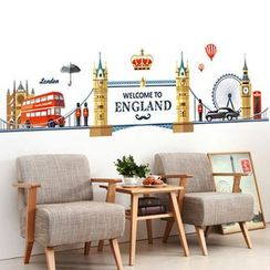 LESIGN - England Wall Sticker