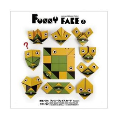 cochae - cochae : Funny Face Origami Paper Set 3 (5 Sheets)