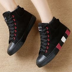 Renben - Fleece-lined High-top Sneakers