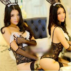 Cleopatra - Bunny Girl Lace Lingerie Set