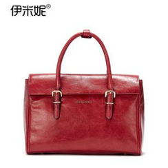 Emini House - Genuine Leather Satchel