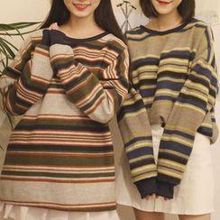 Cerauno - Striped Pullover