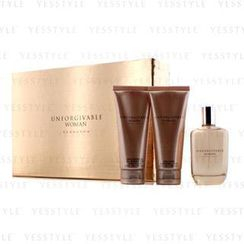 Sean John - Unforgivable Coffret: Parfum Spray 125ml/4.2oz + Body Lotion 100ml/3.4oz + Shower Gel 100ml/3.4oz