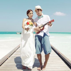 Honey Lemon - 沙滩裙 / 衬衫