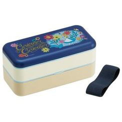 Skater - Alice in Wonderland Simple Lunch Box (Blue)