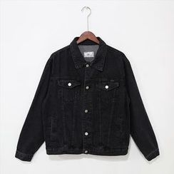 Mr. Cai - Buttoned Denim Jacket