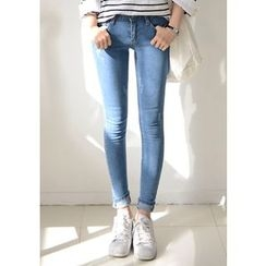 DEEPNY - Washed Skinny Jeans