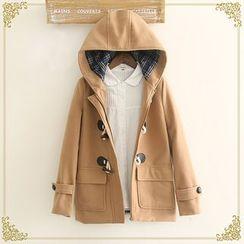 Fairyland - Hooded Toggle Coat