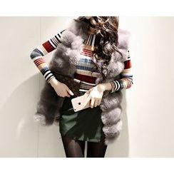 Marlangrouge - Faux-Fur Vest