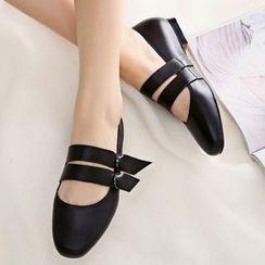 Sidewalk - 带式平底鞋