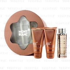 Mont Blanc - Legend Pour Femme Coffret: Eau De Parfum Spray 75ml/2.5oz + Body Lotion 100ml/3.3oz + Shower Gel 100ml/3.3oz
