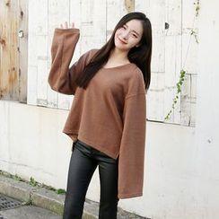Envy Look - V-Neck Oversized T-Shirt