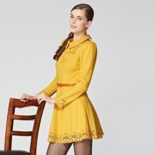 O.SA - Long-Sleeve Cutout Dress