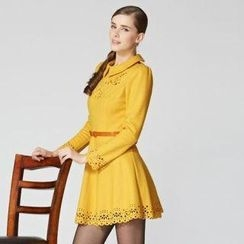 O.SA - Long-Sleeve Cutout Dress