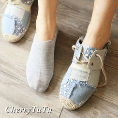 CherryTuTu - Plain Low Socks