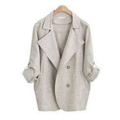 AGA - Plain Trench Coat