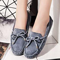 YIYA - Genuine Suede Loafers
