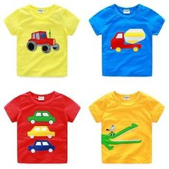 WellKids - Kids Short-Sleeve Applique T-Shirt