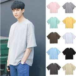優凡士品 - 純色中袖T恤