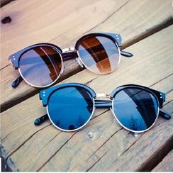 Sunny Eyewear - Semi-Rimless Sunglasses