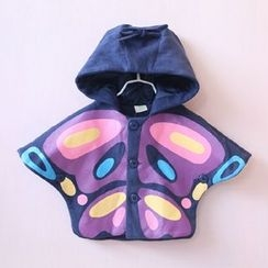 Rakkaus - Kids Hooded Cape Jacket