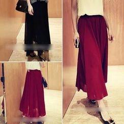 QZ Lady - Maxi Chiffon Skirt