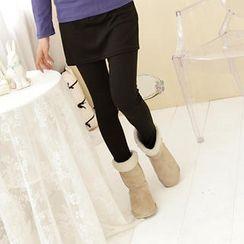 RingBear - Inset Skirt Leggings