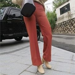 LIPHOP - Boot-Cut Dress Pants