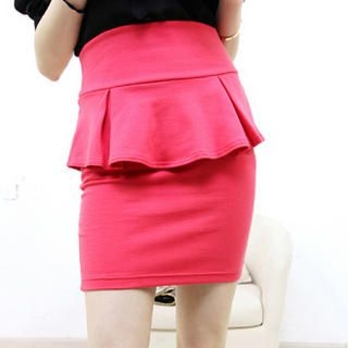 JVL - Peplum Pencil Skirt