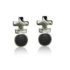 ZN Concept - Black Agate Earrings