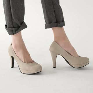 FM Shoes - Genuine Leather Pumps