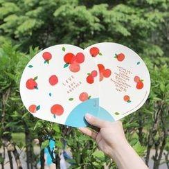 Full House - gracebell - Printed Hand Fan