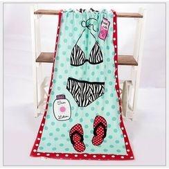 Dolfin - 印花沙灘毛巾