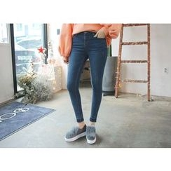 Envy Look - Fleece-Lined Skinny Jeans