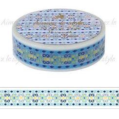 Aimez le style - Aimez le style Masking Tape Primaute Regular Moroccan Pattern