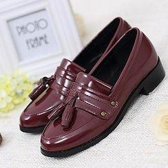 Mancienne - Tasseled Loafers