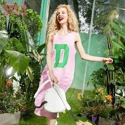 ELF SACK - Lettering Tank Dress
