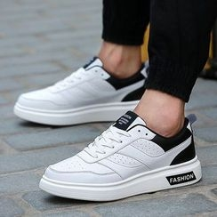 Main Road - Contrast Panel Sneakers