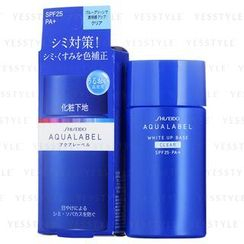 Shiseido - Aqualabel White Up Base SPF 25 PA+ (Clear) (Blue)