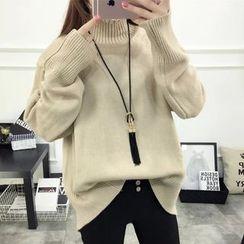 Acoustic Rain - Turtleneck Thick Sweater