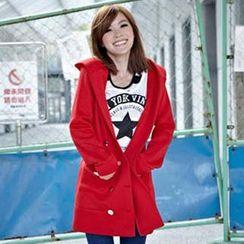 Tokyo Fashion - Tie-Waist Hooded Coat