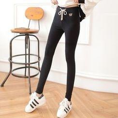 DORRIE - Drawstring Skinny Pants