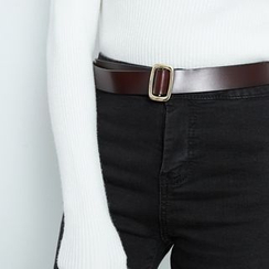 BAIMOMO - Faux-Leather Belt