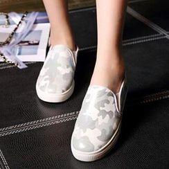 Tomma - 迷彩輕便鞋