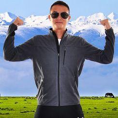 MaxBlue - 運動拉鍊外套