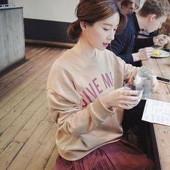 mimi&didi - Lettering Sweatshirt