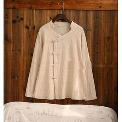 tete - Long-Sleeve Buttoned Blouse