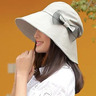 Thantrue - Bow-Accent Sun Hat