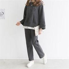 PIPPIN - Set: Lettering Sweatshirt + Sweatpants
